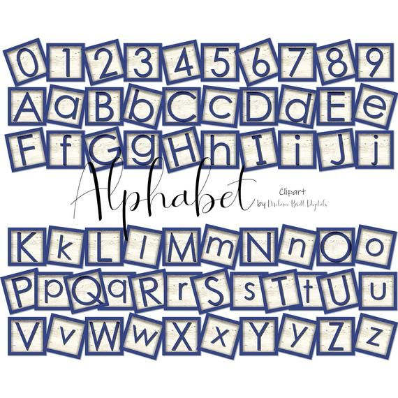 Pin By Melanie Britt On Digital Design Alphabet Blocks Clip Art