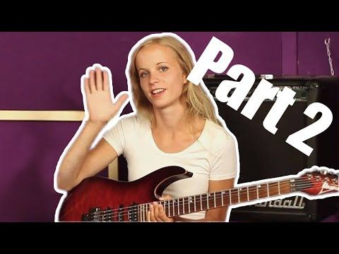 Canon Rock Lesson By Laura Part2 Youtube Guitar Chord Chart