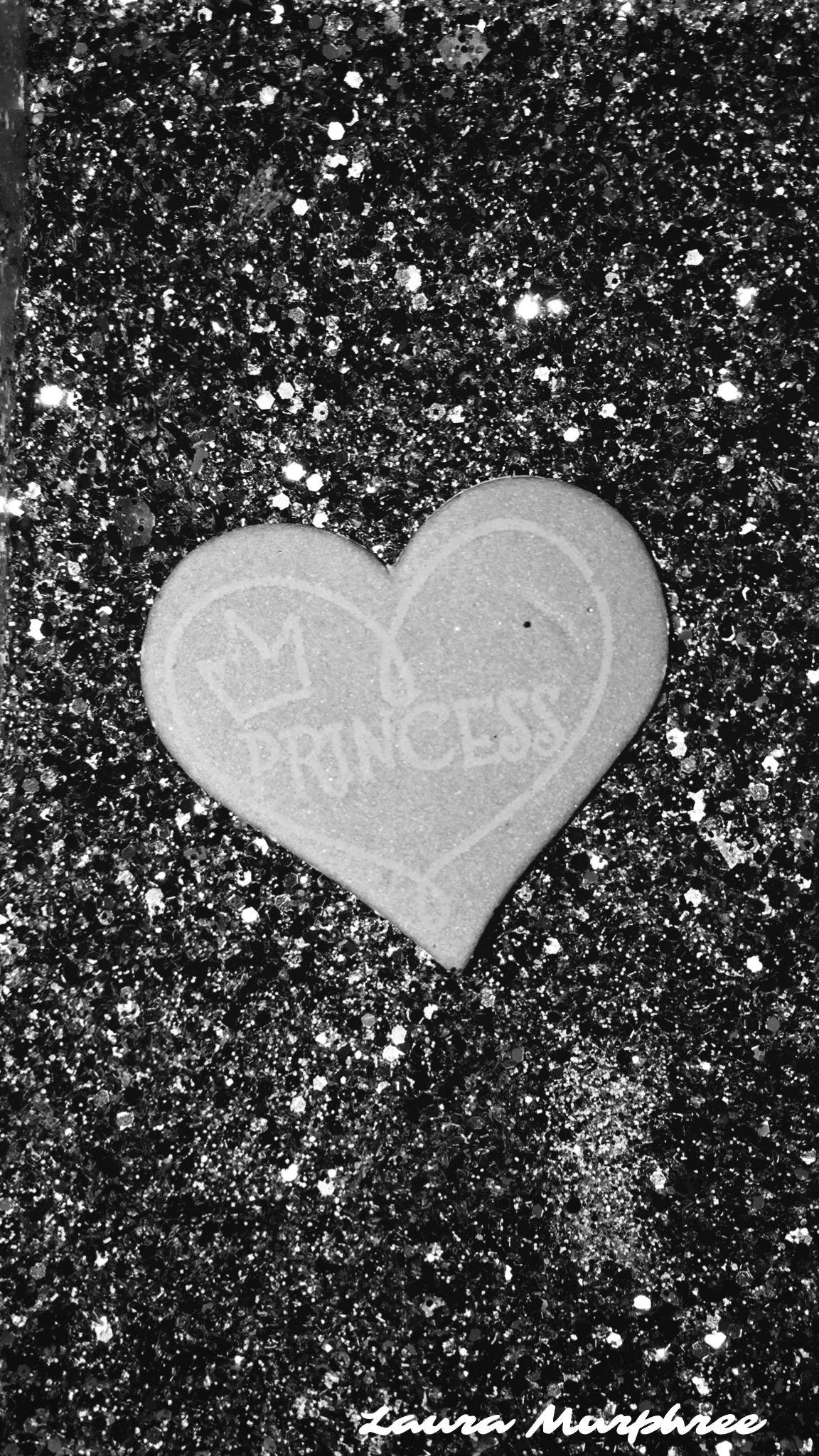 Glitter Phone Wallpaper Sparkle Background Bling Shimmer Sparkles Glittery Pretty Girly Black G Heart Iphone Wallpaper Pink Wallpaper Heart Cute Heart Drawings