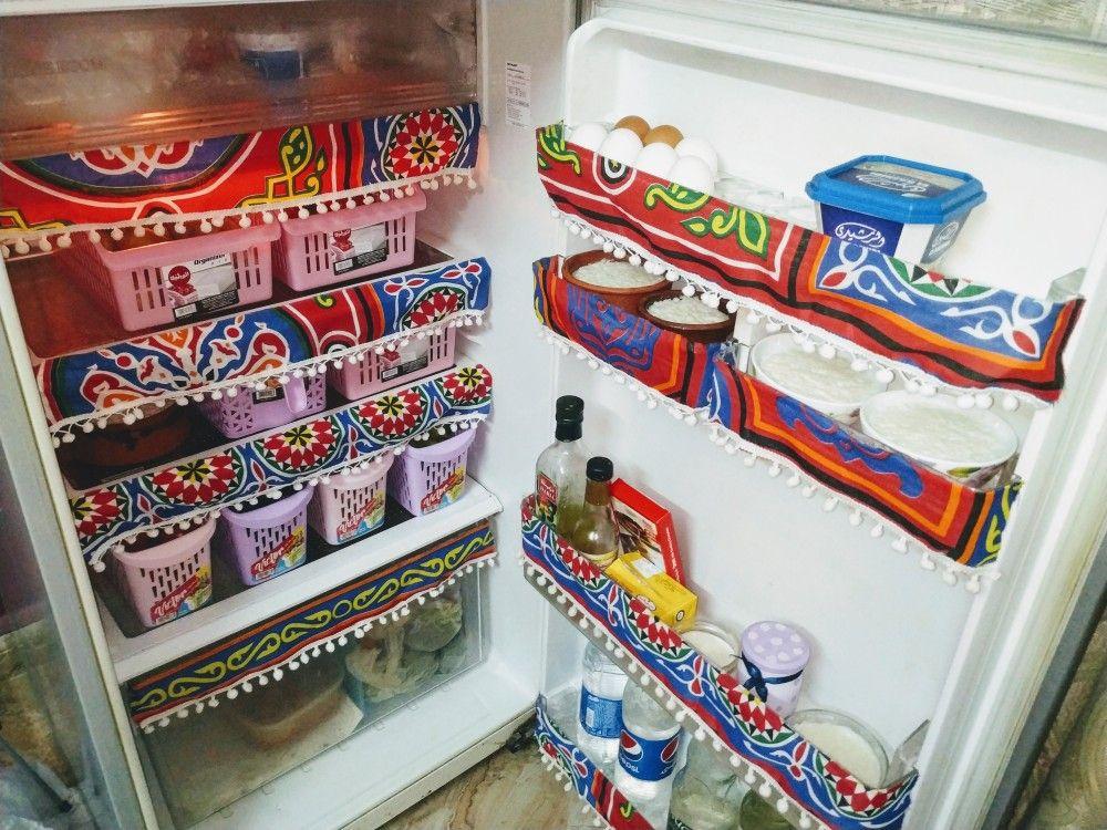 تزيين الثلاجه بمناسبه شهر رمضان Decor Home Decor Shelves