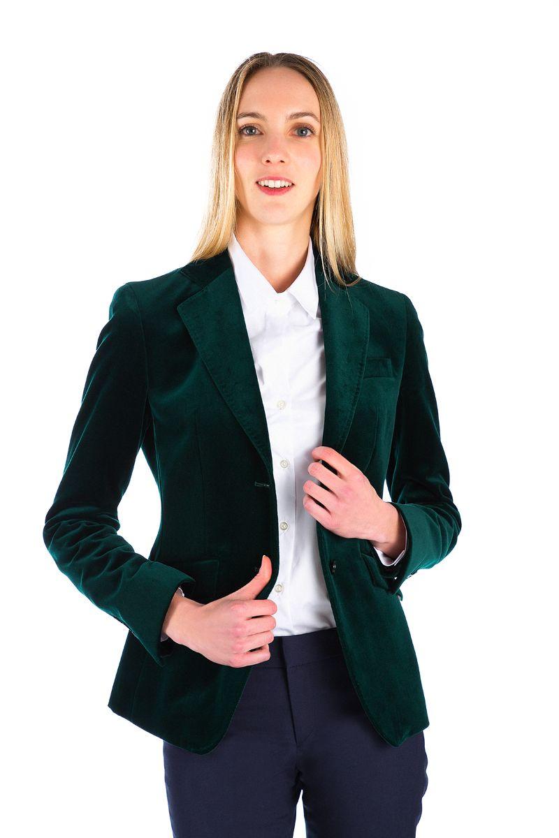 Veste velours pour femme