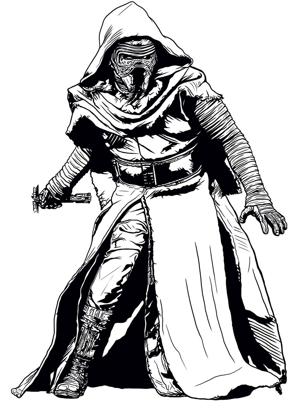 Kylo Ren Drawing Coloring Pages Star Coloring Pages Kylo Ren