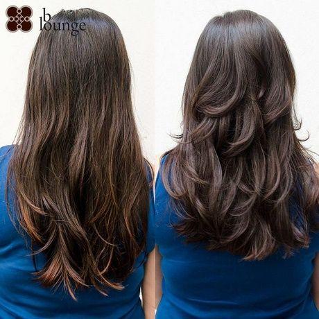 Stufenschnitt Lange Haare Hinten Haarfein Hair Hair Styles Und