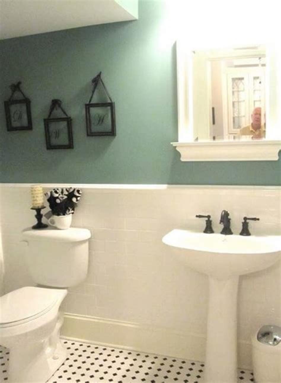 43 cute half bathroom ideas that will impress you  half