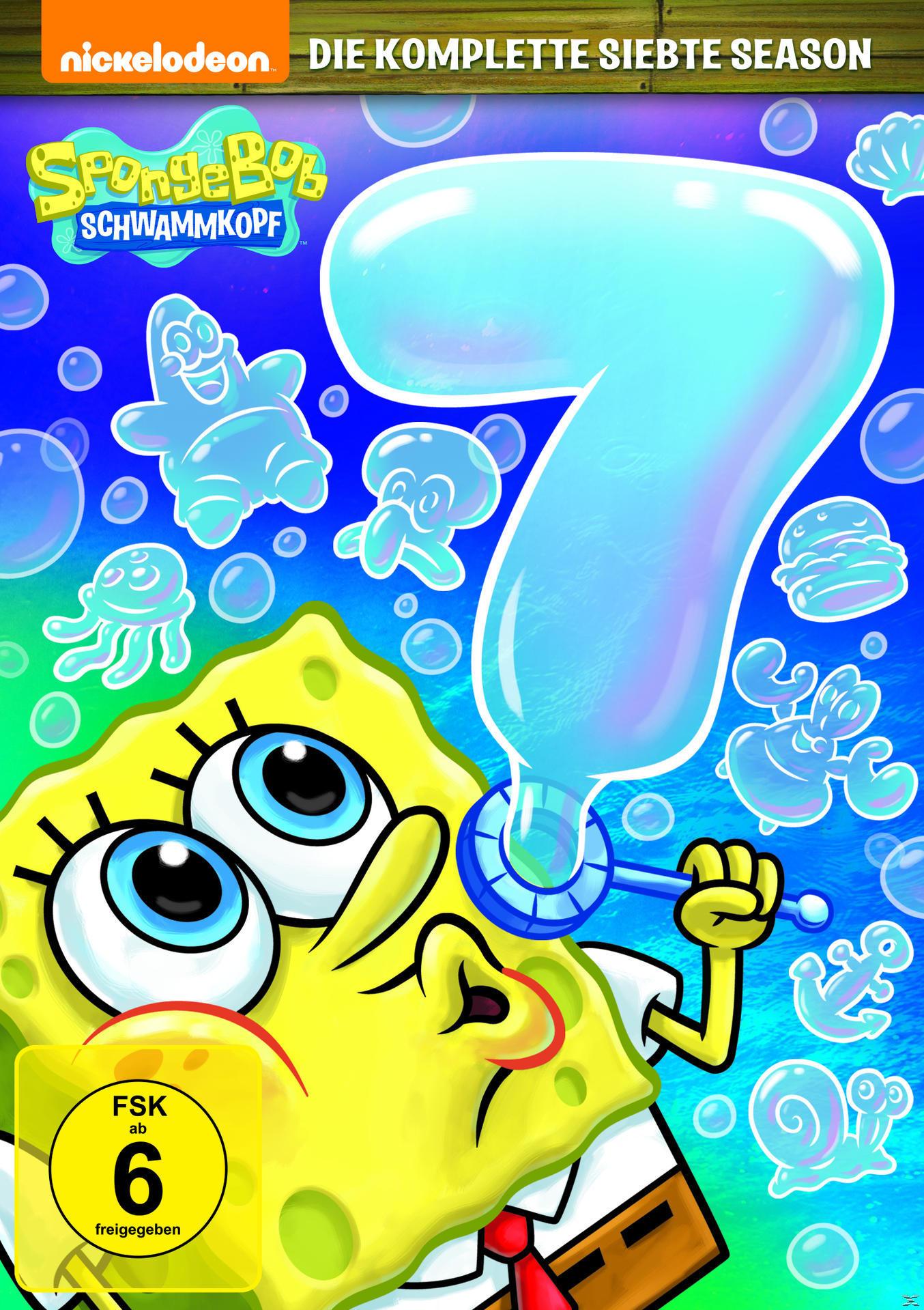 Spongebob Schwammkopf – Die Komplette Season 7 Dvd