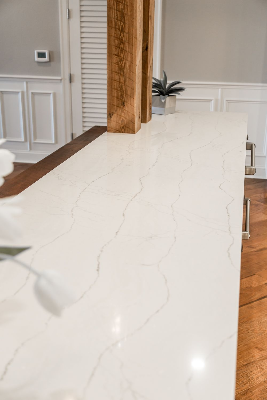 Island Estates Kitchen Remodel Featuring Cambria Ella Quartz