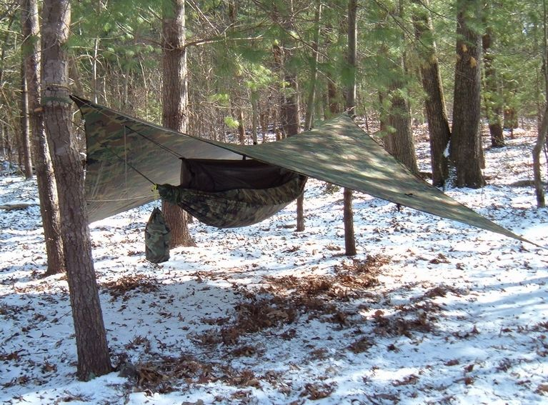 jungle hammock  camo  set up from a kayak in 20 minutes during the ayutthaya floods  oct rick ashworth u0027s jungle hammock in the snow  february 2007 usa      rh   pinterest