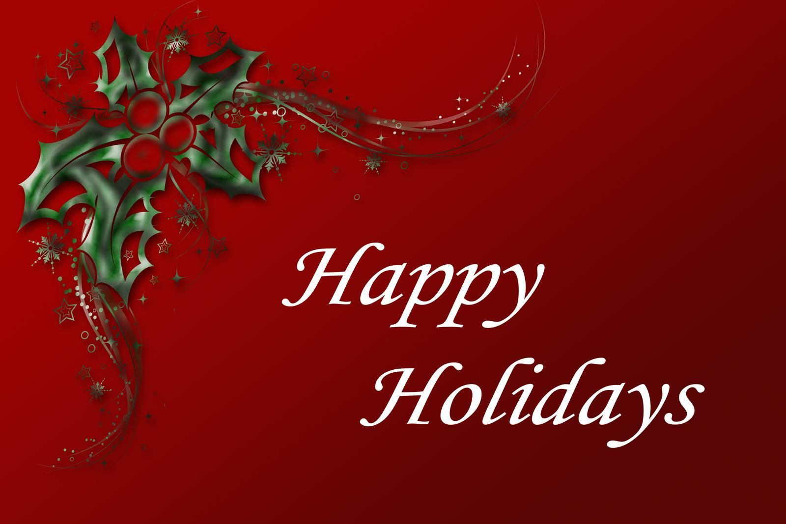 happy holidays red wallpaper d and cg abstract background 1600×1067