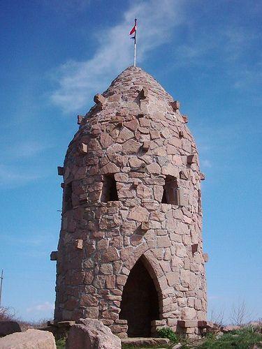 """Monument in  the Mountain Bükk, """"  BÜKKALJA  """", Hungary"""