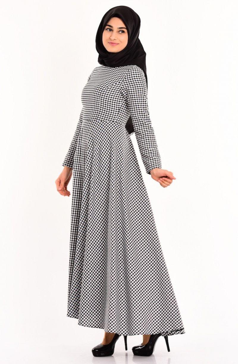 Sefamerve Tesettur Desenli Elbise Modelleri Moda Tesettur Giyim Elbise Modelleri Elbise Moda Stilleri