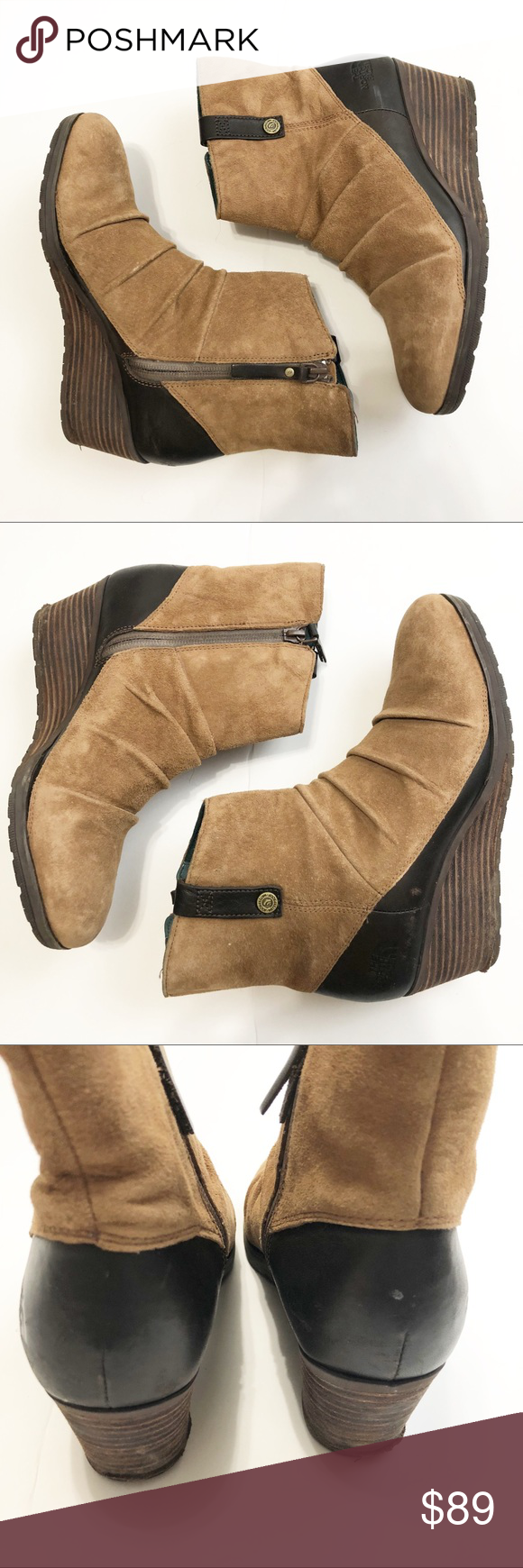 18b5d726942 Spotted while shopping on Poshmark  The North Face Bridgeton Wedge Zip  Booties Boots!  poshmark  fashion  shopping  style  The North Face  Shoes