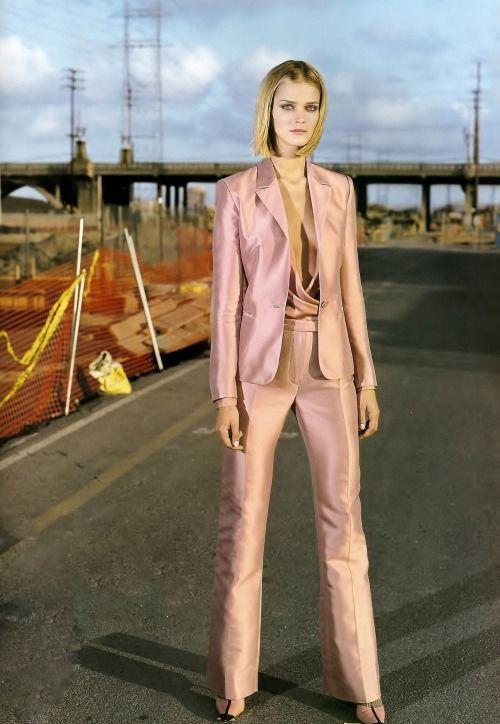 Carmen Kass in Versace _ Photo by Steven Meisel _ Vogue US, August 2000.