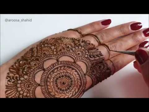 New very intricate beautiful henna design | Indian Bridal mehendi design