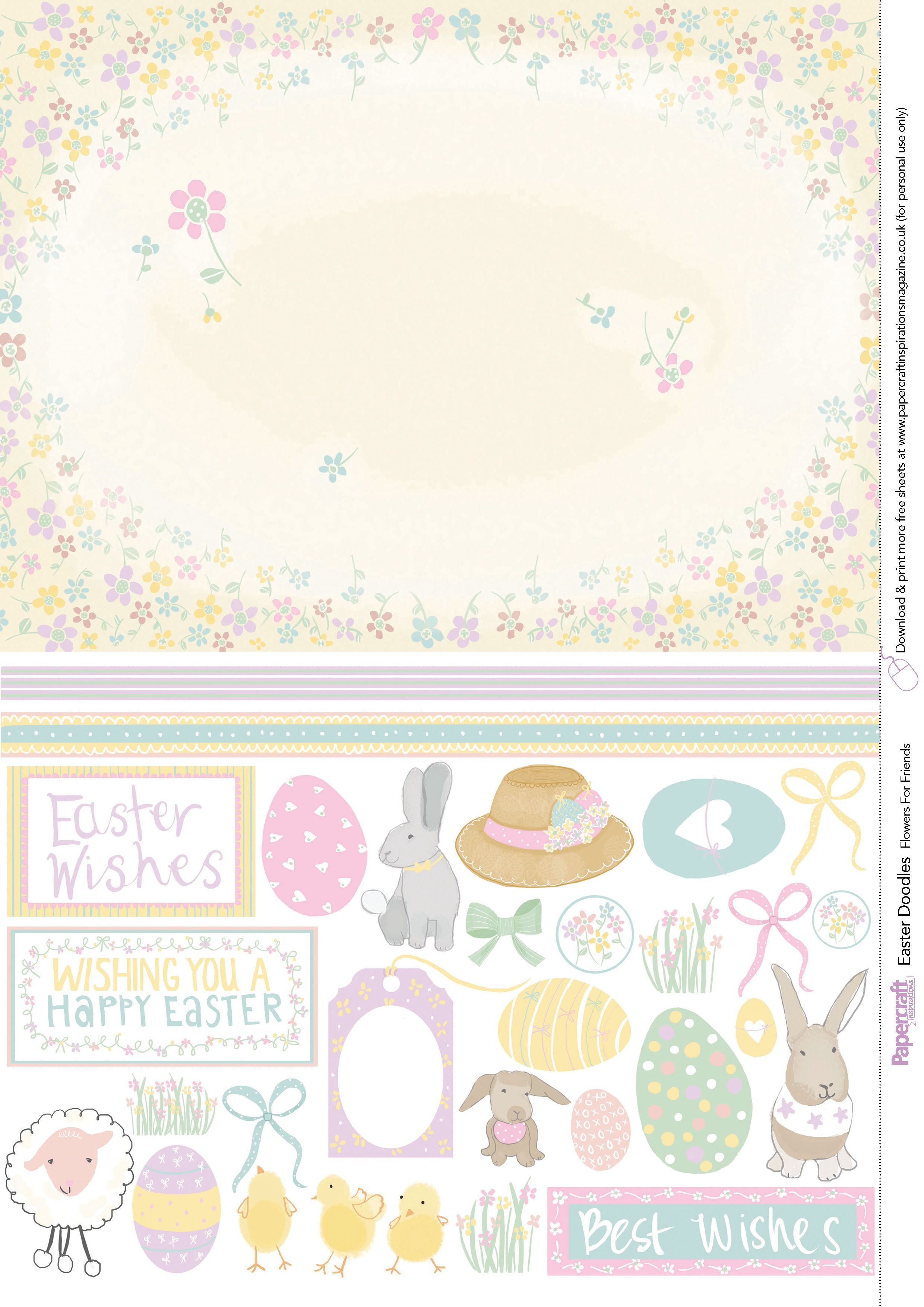 Paper craft 137 easter printable papers 5 free paper pinterest paper craft 137 easter printable papers 5 jeuxipadfo Choice Image
