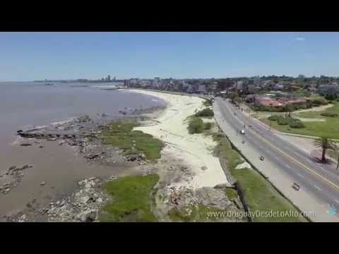 Video Aéreo De Montevideo Punta Gorda Places To Visit Montevideo Beach