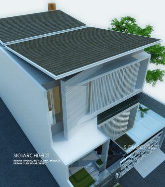 model rumah modern 2018 2 lantai_kanopi   rumah modern