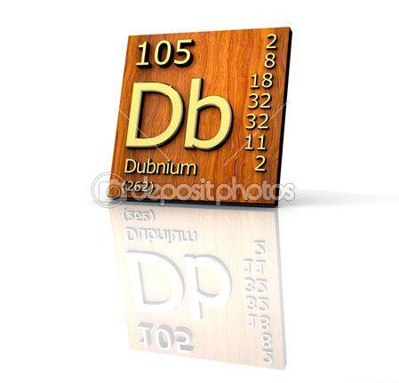 Tabla de dubnio peridica de elementos junta directiva 3d hecho tabla de dubnio peridica de elementos junta directiva 3d hecho de madera urtaz Gallery