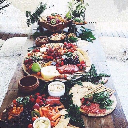 Soul Food Buffet Menu Wedding: Mediterranean Wedding In 2019…