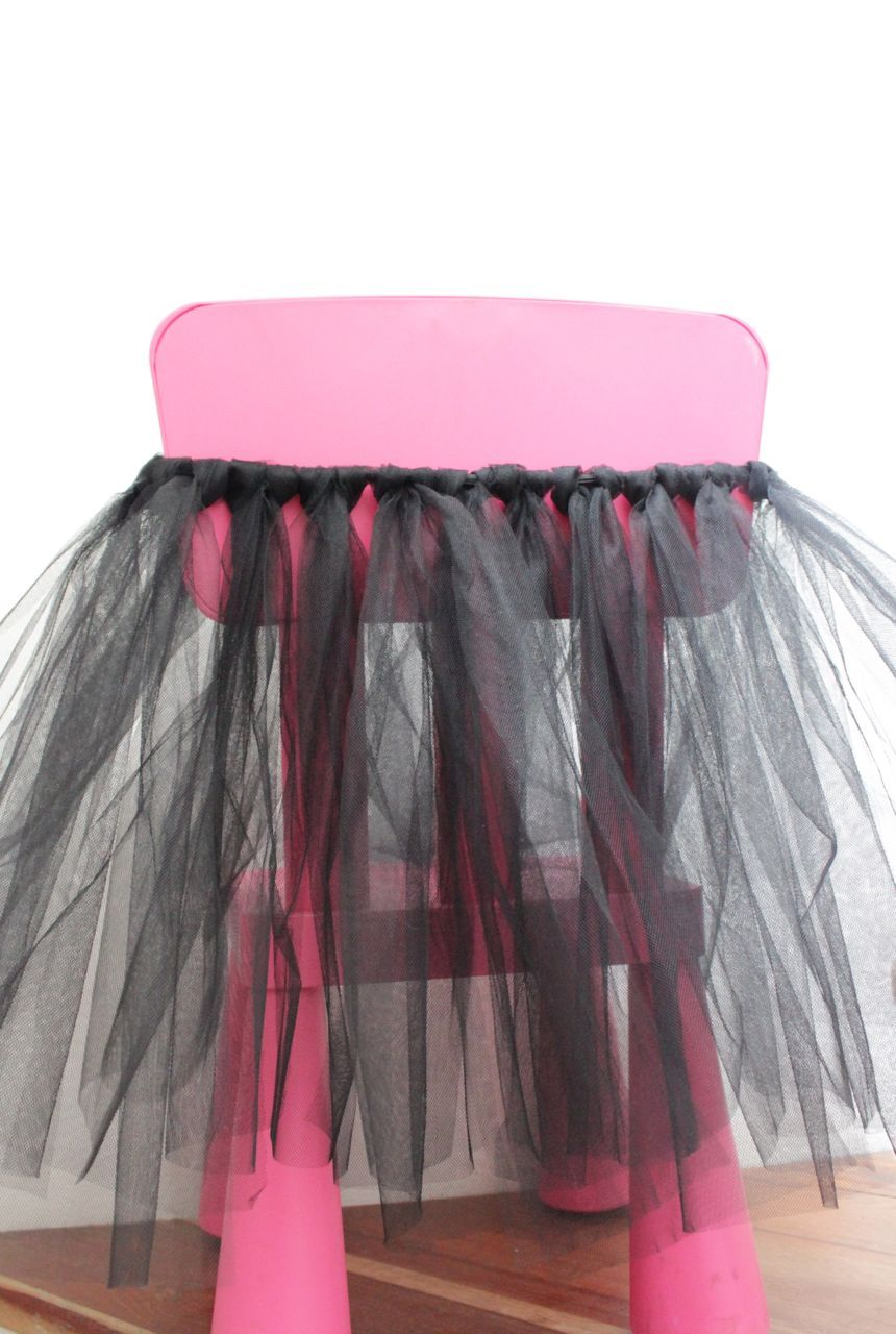 ed55645a0 Aprende a hacer una falda de tul sin coser | tutus | Falda de tul ...