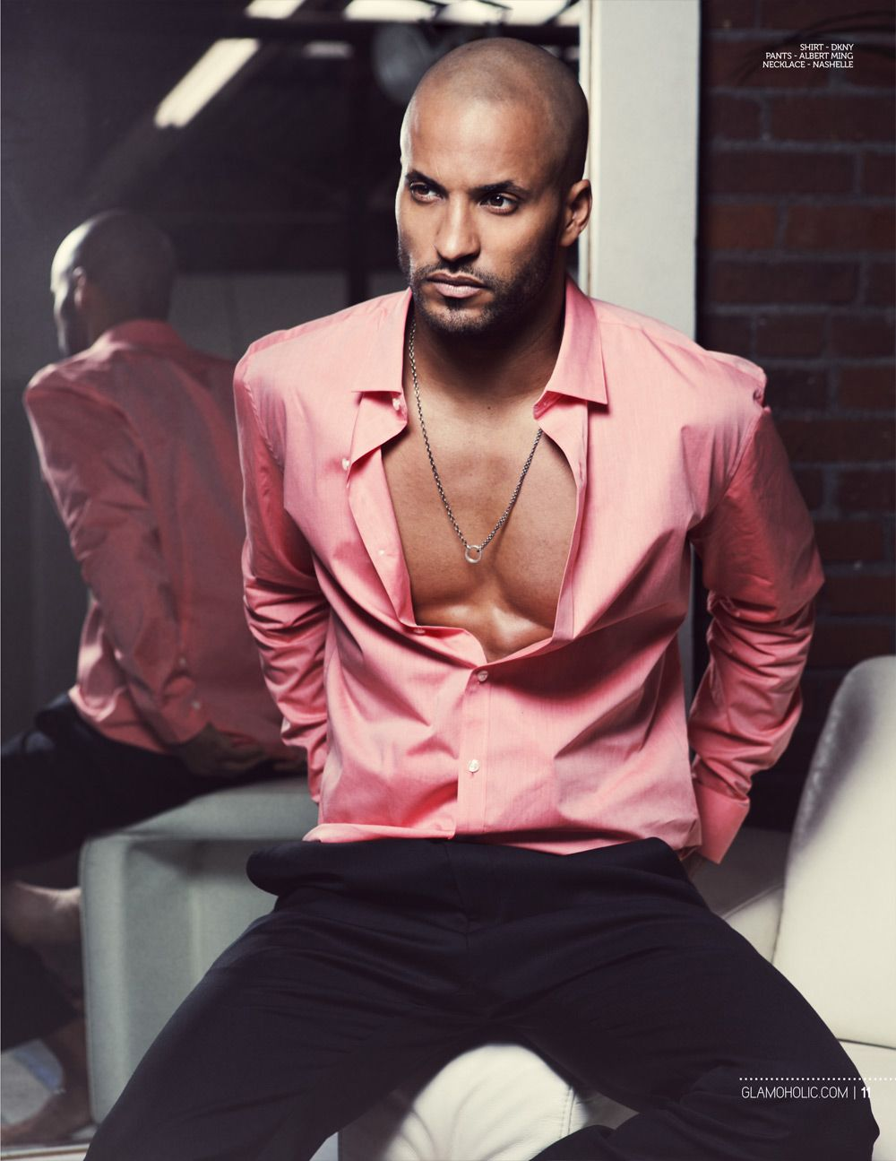 ricky whittle photoshoot