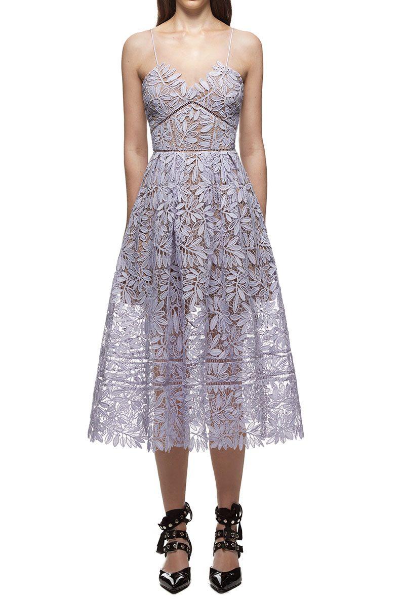 e94ea025a8f987 $329.00 Self Portrait Laelia Guipure Lace Dress | Clothes | Dresses ...