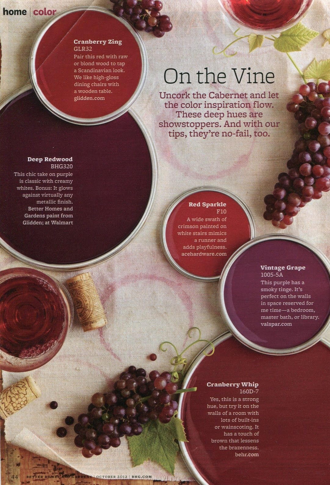 Pin By Stephanie Hanson On Better Home And Garden Color Pallets Red Paint Colors Wine Theme