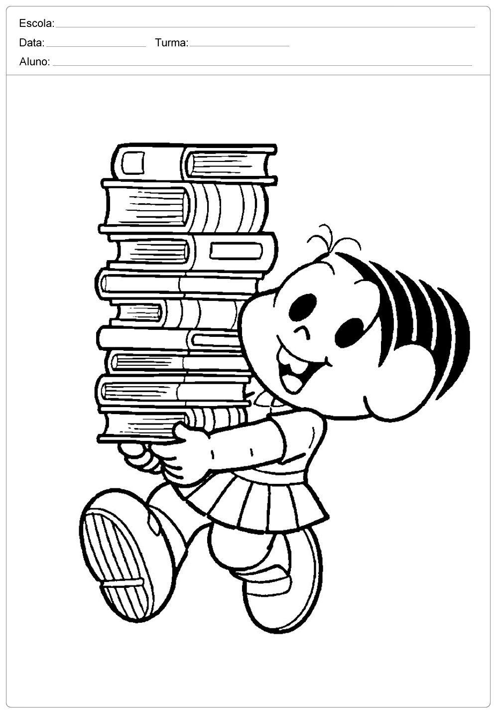 Dia Do Livro Desenhos Para Colorir Dia Do Livro Desenhos Para