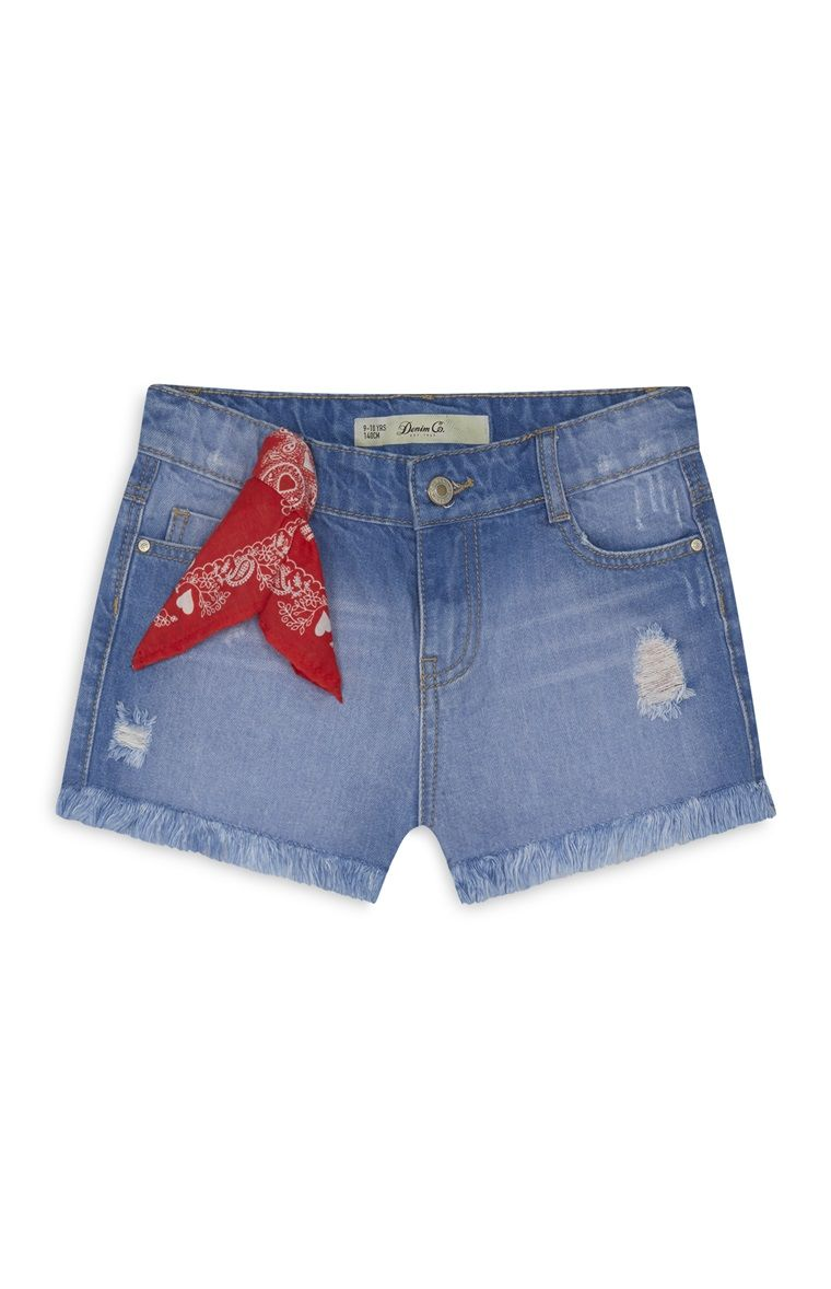 Primark - Short en denim fille  14e09da3042