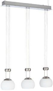 WOFI Lansing Pendant Lamp with 3 Lamps Amazon.co.uk