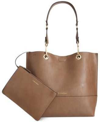 Tote With Klein PouchBagsamp; Reversible Hats Calvin 1JKTFcl