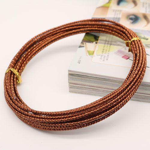 12 Gauge Diamond Cut Aluminum Craft Wire Jewelry Wrapping Jewelry ...