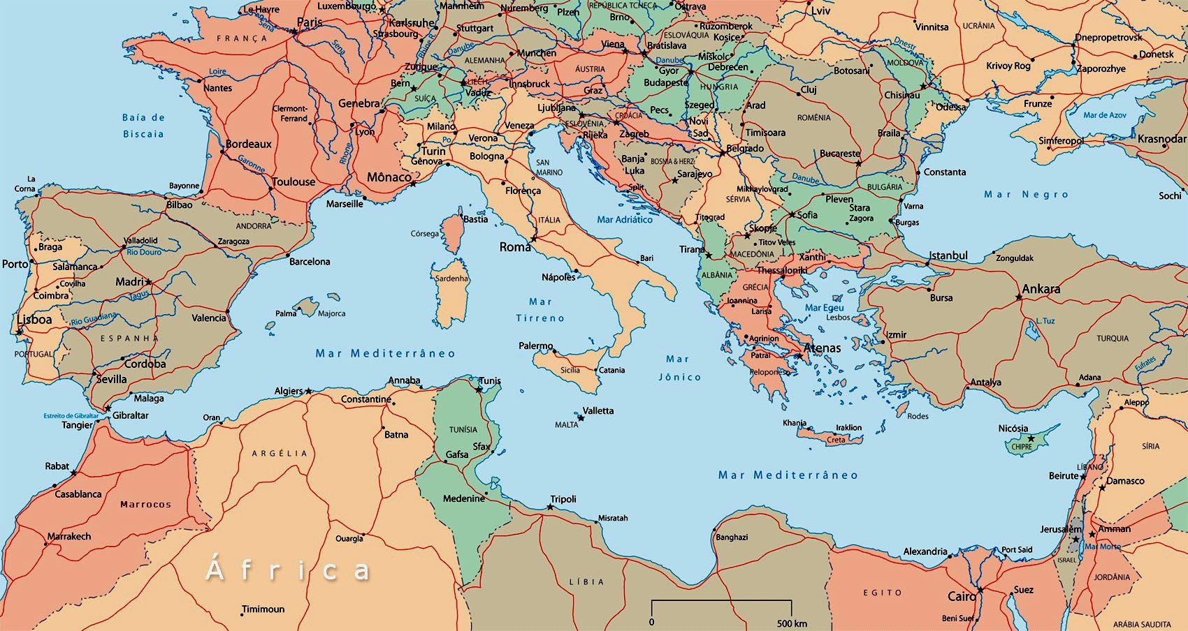 Mapa Del Mar Mediterraneo.Mapa Del Mediterraneo En 2019 Mapa Del Mediterraneo Mapa
