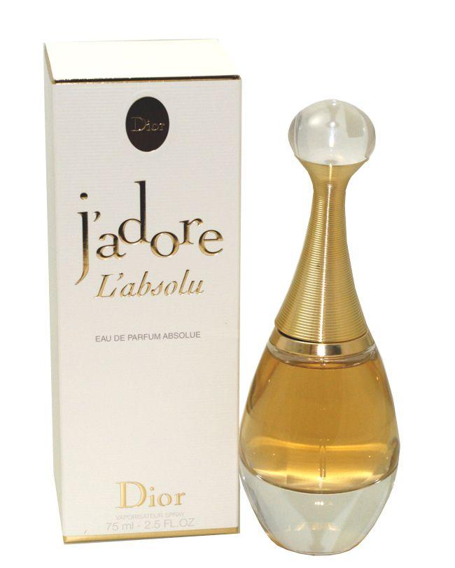J adore L  Absolu Perfume by Christian Dior Eau De Parfum Spray Absolue   75  Ml for Women 2cbcbc6b46