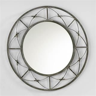 Check out the Cyan Design 04285 Parker Mirror in Rustic Gray priced at $122.50 at Homeclick.com.