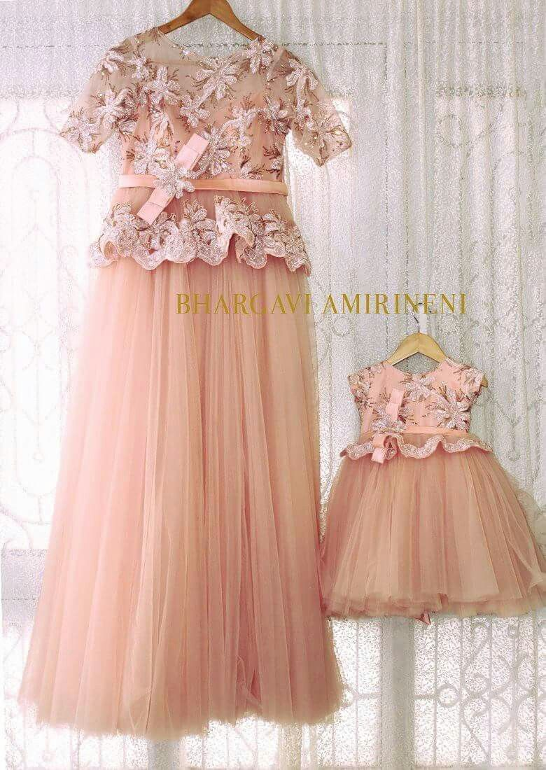 Mom N Daughter Duo Birthday Party Dress