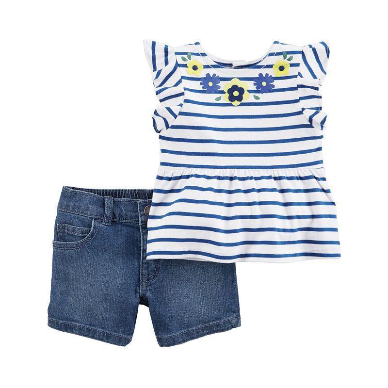 c79e3d563 Carter s 2-pack Short Set Baby Girls  babygirlrooms
