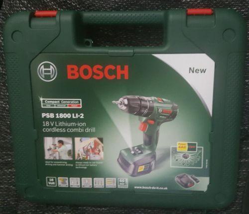 Bosch Psb 1800 Li 2 Schlagbohrschrauber Li Ion 18v 1 5 Ah Akku Bohrmaschine Neusparen25 Com Sparen25 De Sparen25 I Bosch Schlagbohrschrauber Akkuschrauber