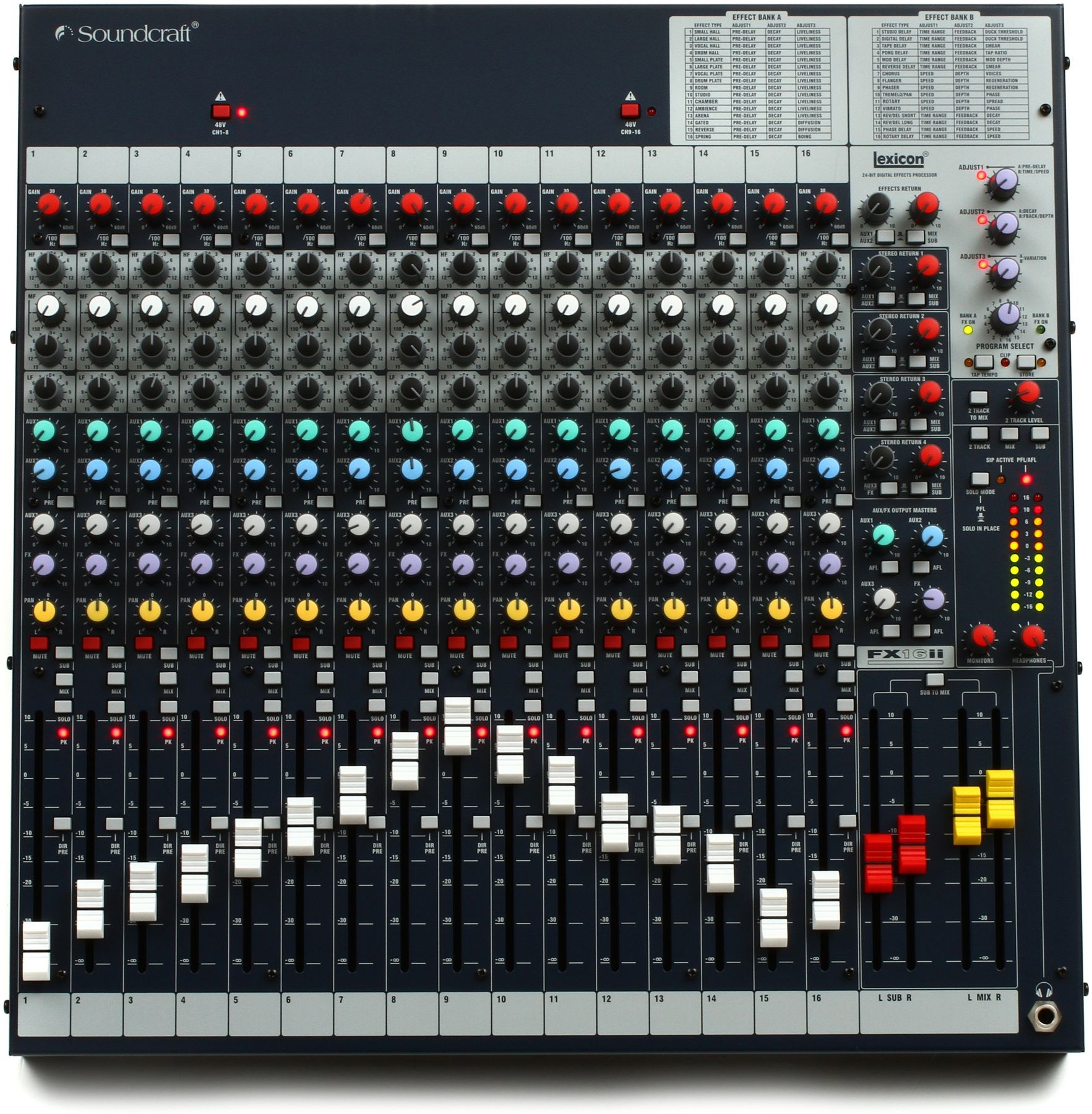 Soundcraft FX16ii Mixer with Effects | Audio stuff | Studio