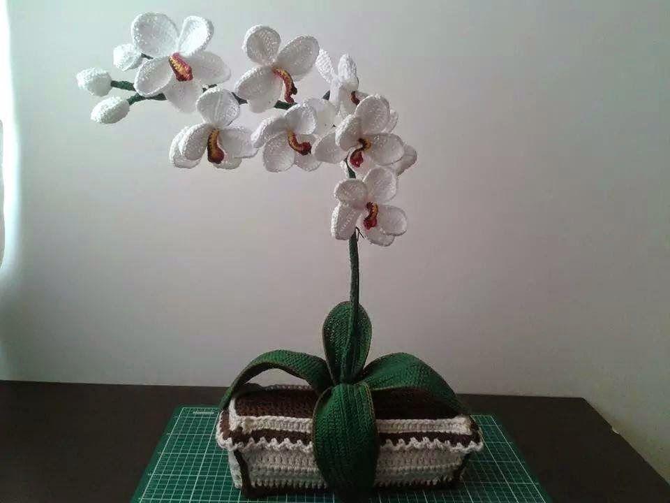 I sette doni di Mia: Orchidea all'uncinetto | 720x960