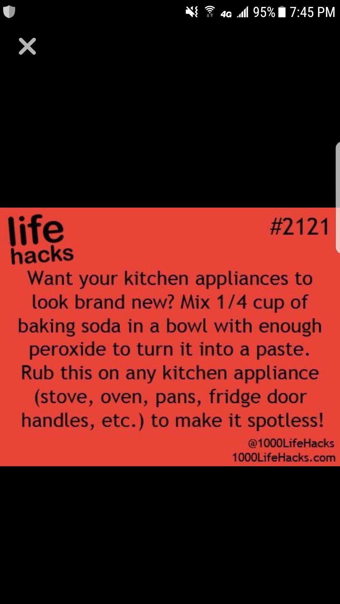 Clean Appliances Spot Less Cleaning Hacks Household Hacks Household Cleaning Tips