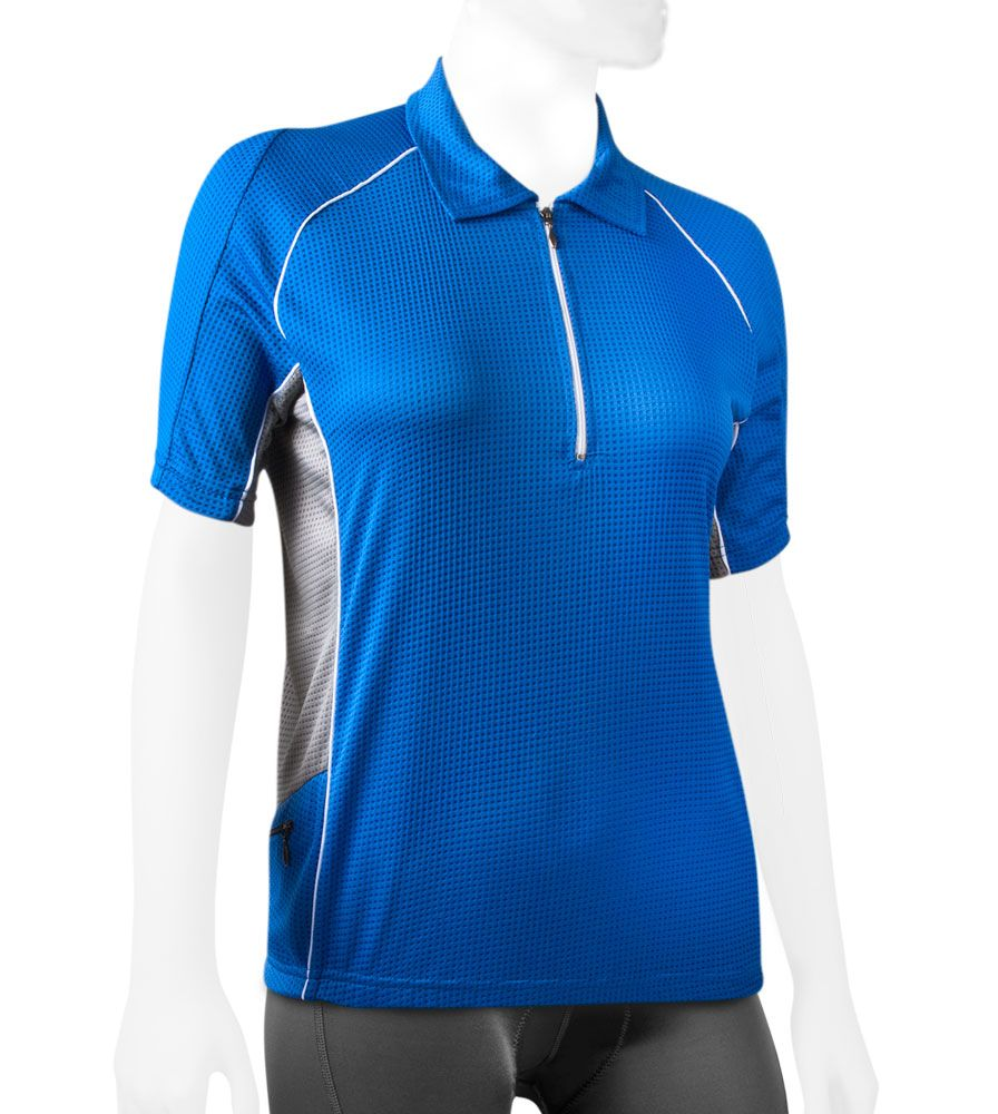 Atd Trail Jersey Cycling Polo Bike Top W Back Pockets And