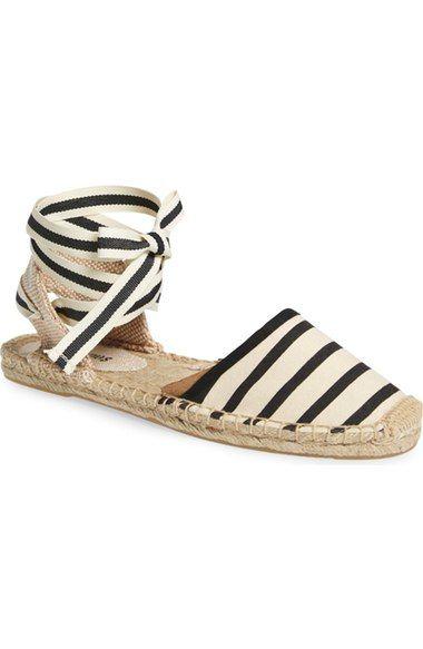 82976fa4179 Lace-Up Espadrille Sandal SOLUDOS (affiliate). Must Have Sandal StylesMust  Have Sandal Styles