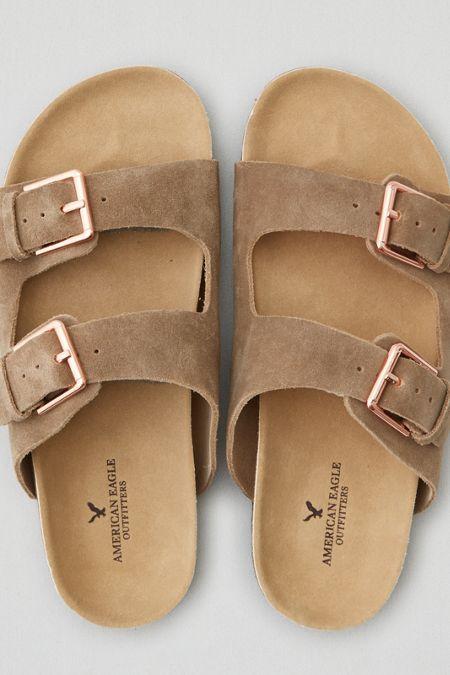 84416df57b2 AEO Double Buckle Sandals