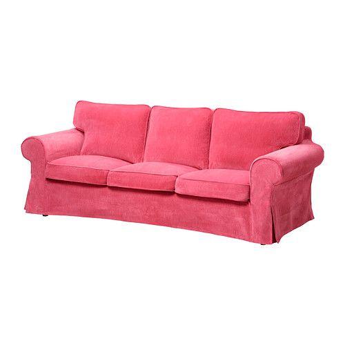 ektorp funda para sof de 3 plazas vellinge rosa ikea sillones pinterest fundas para. Black Bedroom Furniture Sets. Home Design Ideas