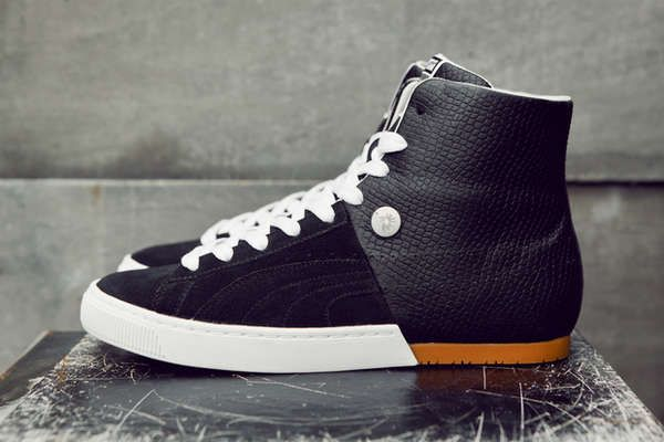 8809404959541c Split-Personality Shoes - The Puma by Miharayasuhiro MY-57 Mid Snake is  Elegant and Sporty