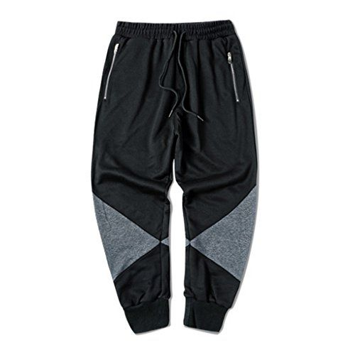 Zokey Men Street Splice Casual Pants Black CK08 http://www.beststreetstyle.com/zokey-men-street-splice-casual-pants-black-ck08/ #fashion   Zokey Men Street Splice Casual Pants Black CK08  Suitable Season£ºAutumn.  Please see the size carefully before you order.