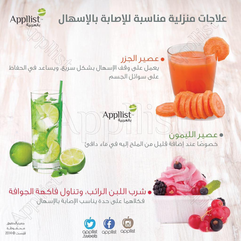 علاجات منزلية للإسهال Fruit Ale Food