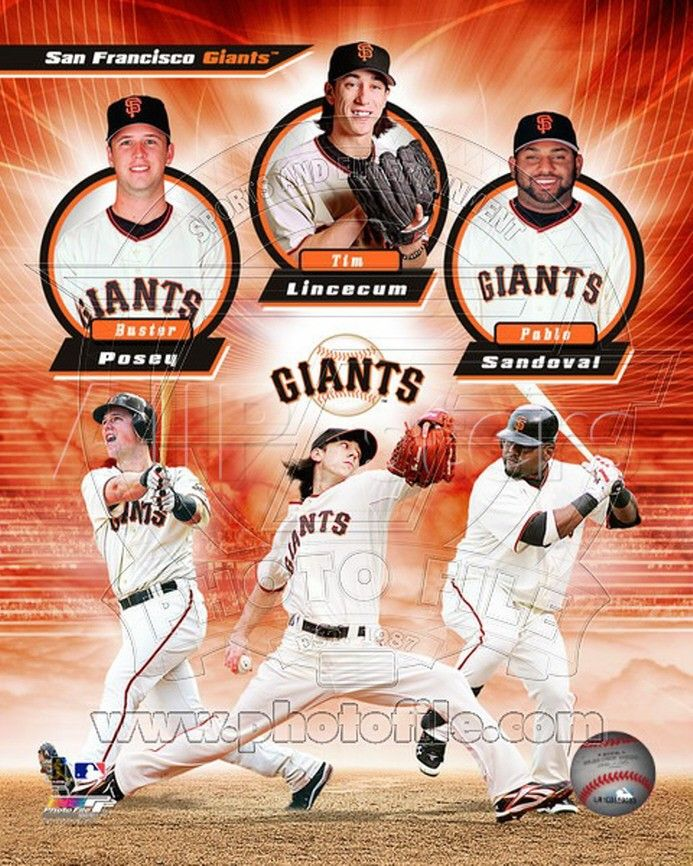 Baseball Collage San Francisco Giants San Francisco Sf Giants