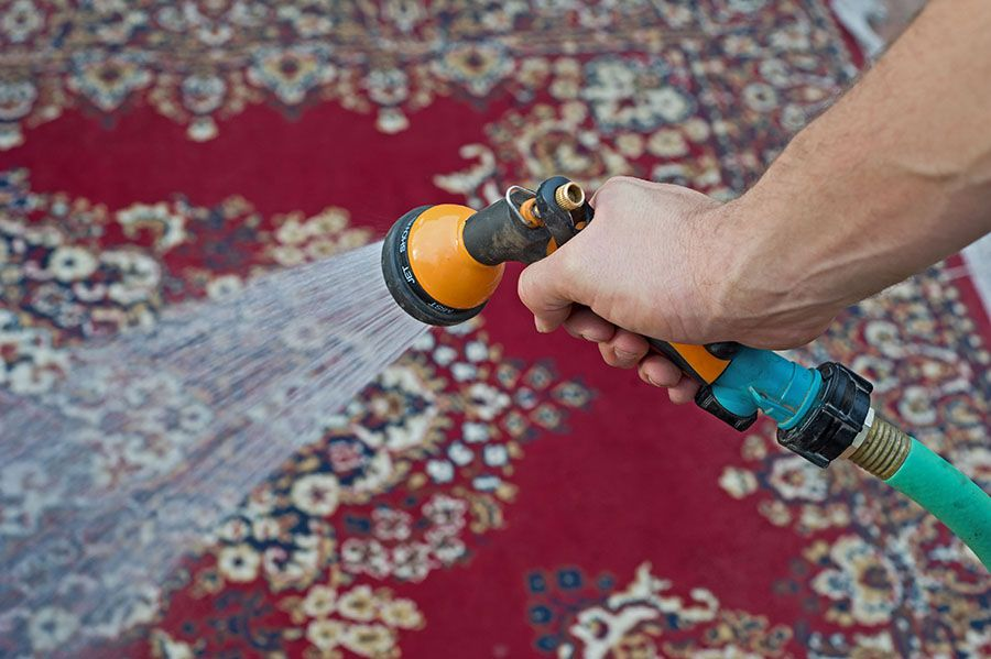 how to deep clean carpet diy