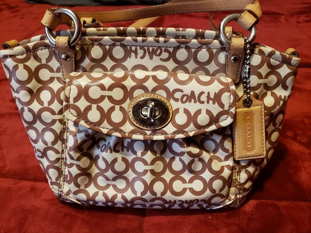 Coach Handbags Used Small Pre Owned Fashion Clothing